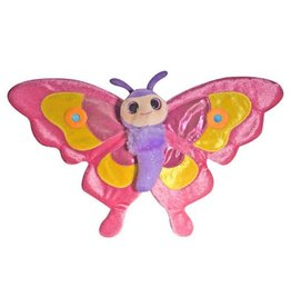 Wild Republic Sweet & Sassy Butterfly Pink