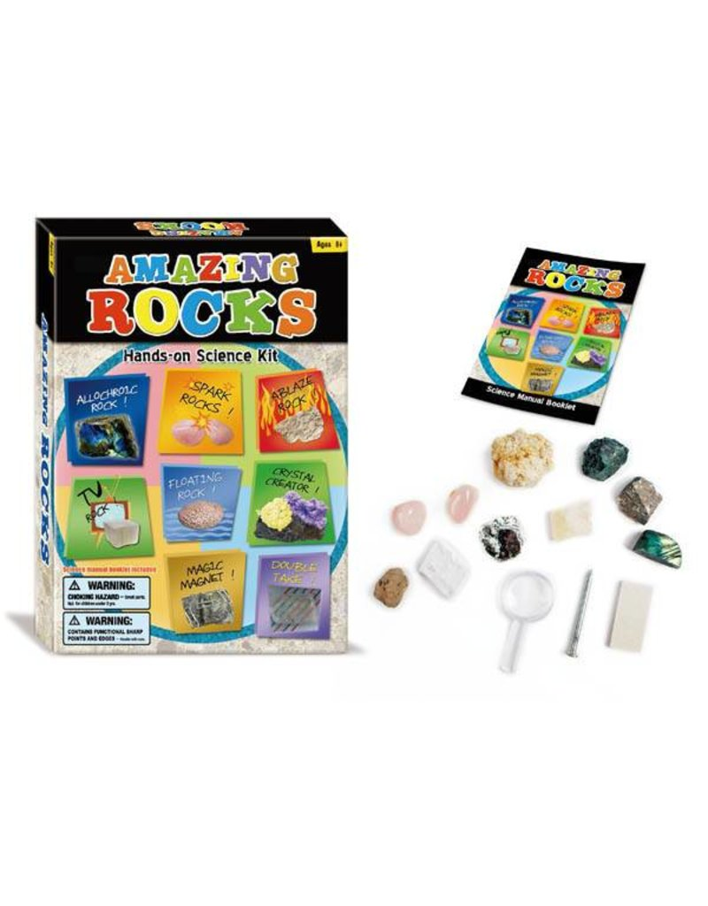 Tedco Toys Amazing Rocks Hands-on Science Kit