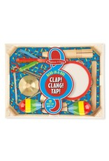 Melissa & Doug Band in a Box Clap! Clang! Tap!