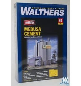 "Walthers Medusa Cement Company -- Kit - 9 x 7 x 11""  22.5 x 17.5 x 27.5cm"