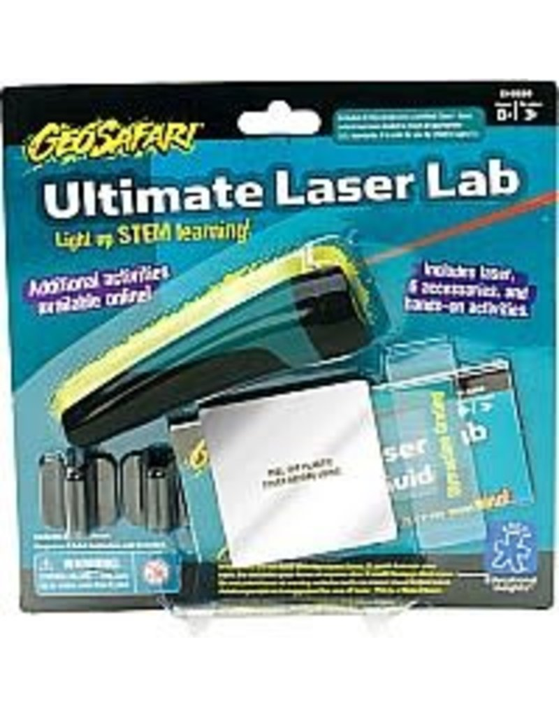 educational insights GeoSafari Ultimate Laser Lab