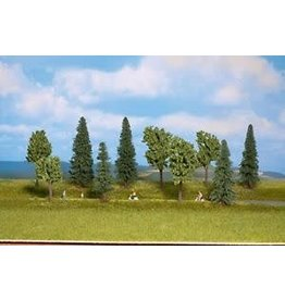 Scene Masters Mixed Deciduous & Pine Tall Trees pkg(10)