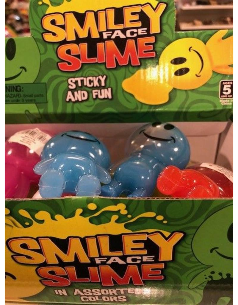 Rhode Island Novelty Smile Face Slime