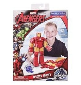 MARVEL MARVEL Paper Craft Iron Man Poseable Figure