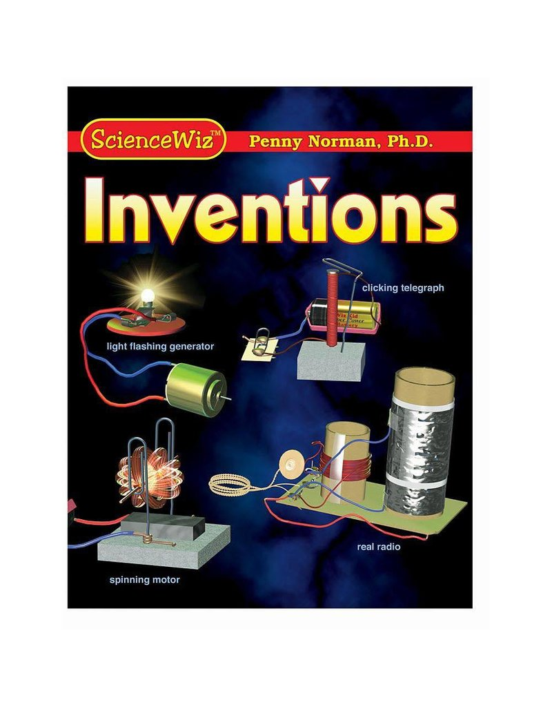 Science Wiz Science Wiz Activity Book - Inventions