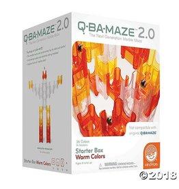 Mindware Q-BA-MAZE 2.0 Starter Box: Warm Colors