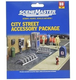 Walthers City Street Accessory Package