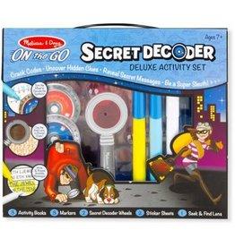 Melissa & Doug Secret Decoder Deluxe Activity Set