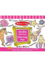 Melissa & Doug Jumbo Coloring Pad - Multi Theme