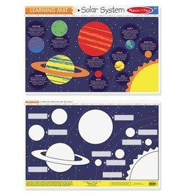 Melissa & Doug Learning Mat- Solar System