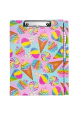 3 Cheers for Girls Clipboard Stationary Set