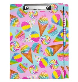 3 Cheers for Girls Super Sweet Clipboard Stationary Set