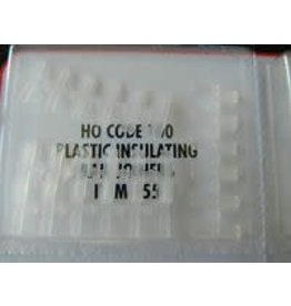 Atlas HO Code 100 Plastic Insulated Rail Joiners (24)