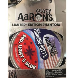"Crazy Aaron Putty Red, Light & Blue 4"" Crazy Aaron Thinking Putty"