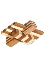 Fridolin IQ-Test Bamboo Puzzle - Chain Knot