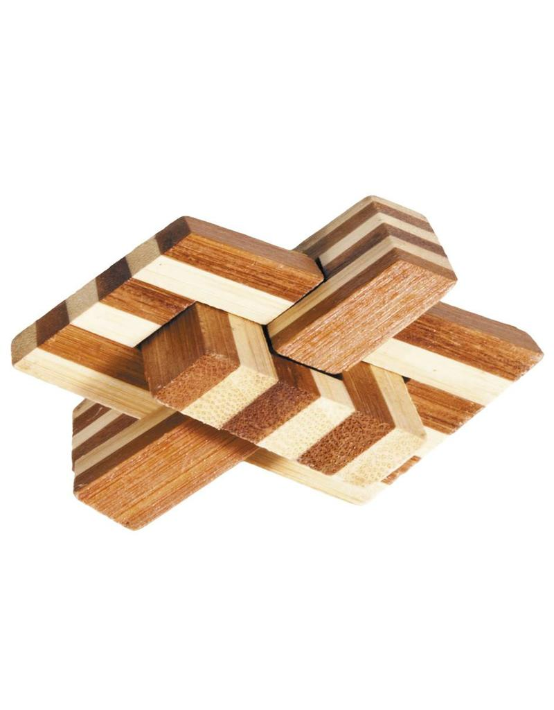 Fridolin IQ-Test Bamboo Puzzle Chain Knot 17161