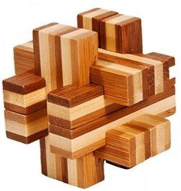 Fridolin IQ-Test Bamboo Puzzle - Balken Construct