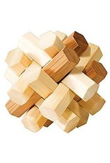 Fridolin IQ-Test Bamboo Puzzle - Double Knot