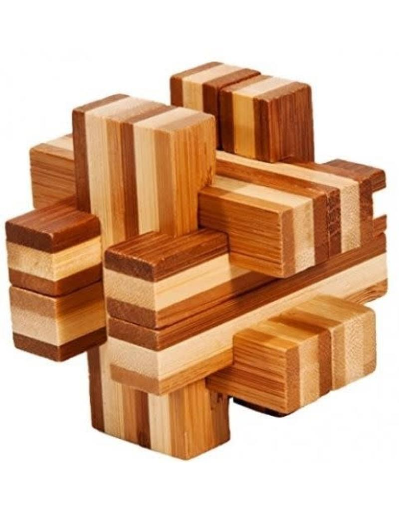 Fridolin IQ-Test Bamboo Puzzle 17457