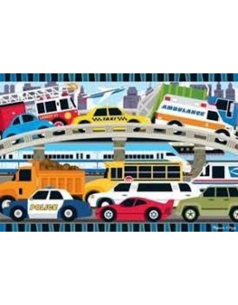 Melissa & Doug 24 Piece Traffic Jam Puzzle