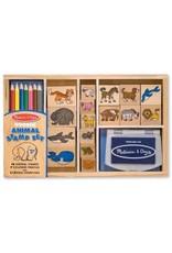 Melissa & Doug Animal Stamp Set