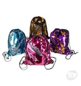 "Rinco 14""X16."" Flip Sequin Backpack"