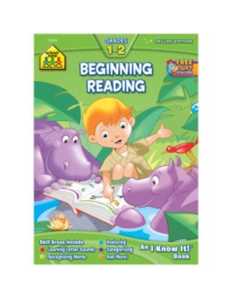 School Zone Beginning Reading Deluxe - Grades 1-2