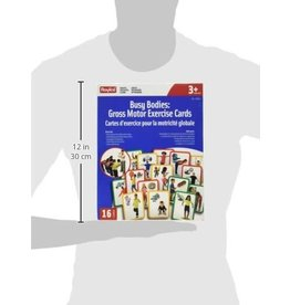 Roylco Busy Bodies: Gross Motor Exercise Cards