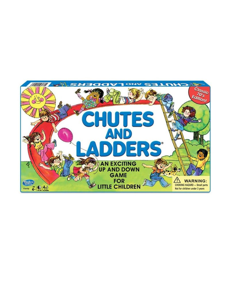 Winning Moves CHUTES & LADDERS CLASSIC EDITION 1195