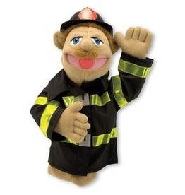 Melissa & Doug Puppet - Firefighter