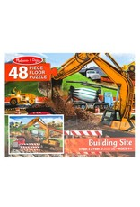 Melissa & Doug 48 Piece Building Site Floor Puzzle