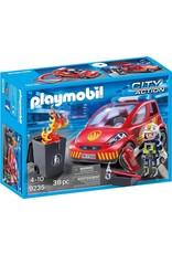 Playmobil Playmobil Firefighter with Car 9235