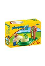 Playmobil Playmobil Girl with Dino Egg 9121