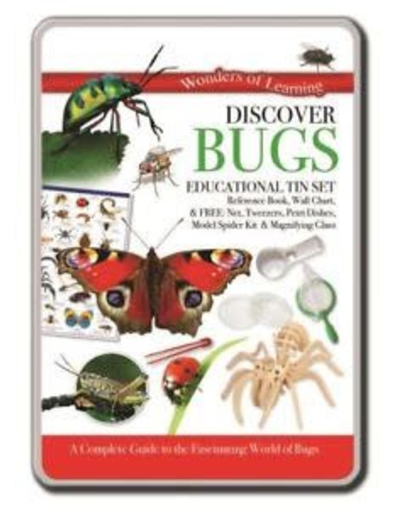 North Parade Publishing Discover Bugs Educational Tin Set