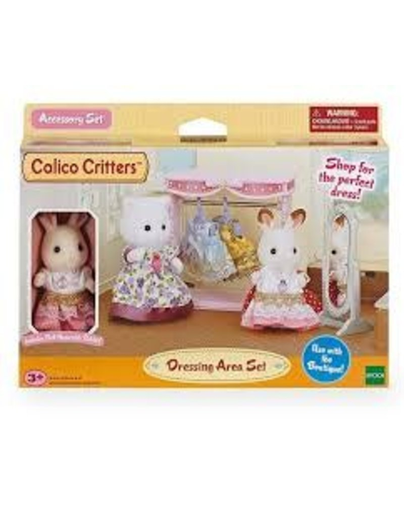 epoch Calico Critters Dressing Area Set