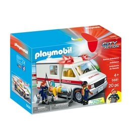 Playmobil Playmobil Rescue Ambulance 5681