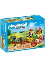 Playmobil Playmobil Horse-Drawn Wagon 6932
