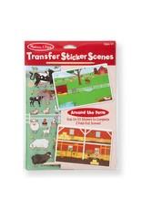 Melissa & Doug All Transfer Sticker Set - Around the Farm