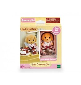 epoch Calico Critters Cake Decorating Set