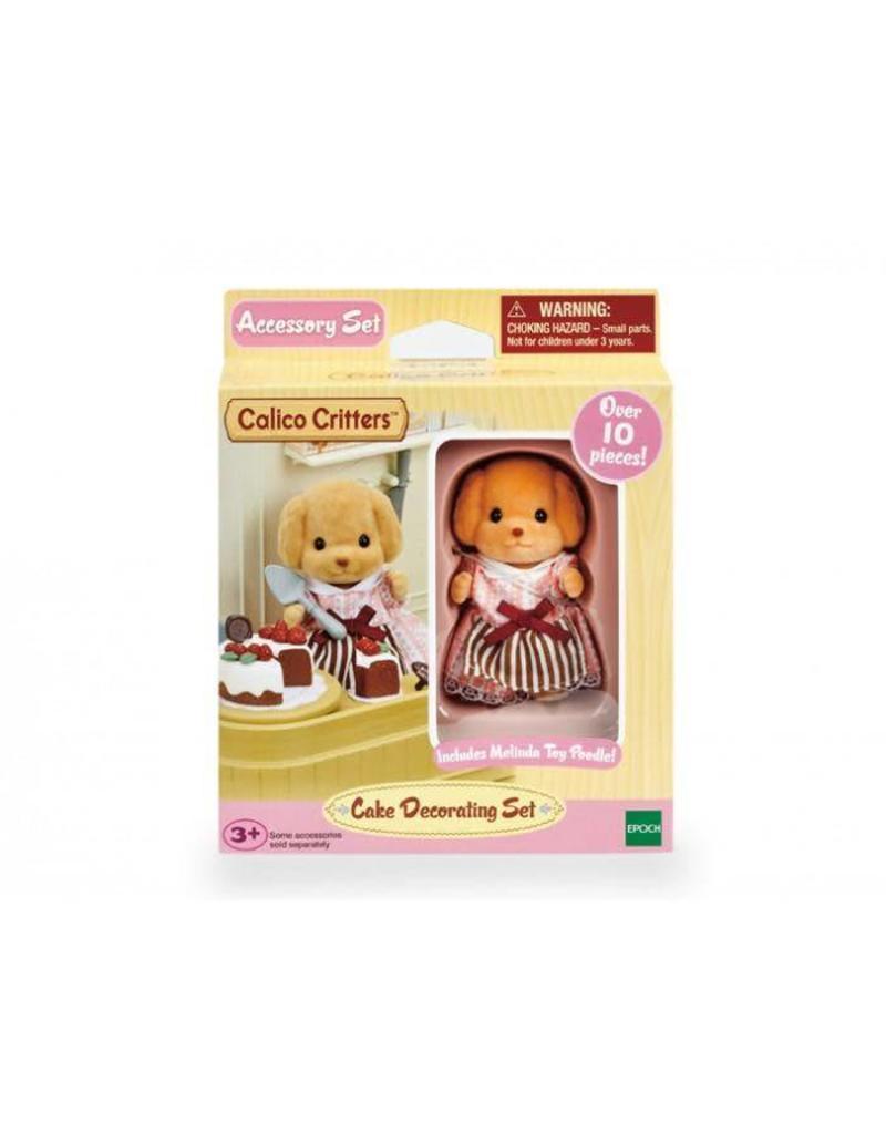 Epoch Calico Critters Cake Decorating Set