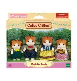 Epoch Calico Critters Maple Cat Family
