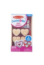 Melissa & Doug Created By Me! Heart Magnets