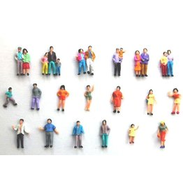 Walthers Bulk Ho Scale People