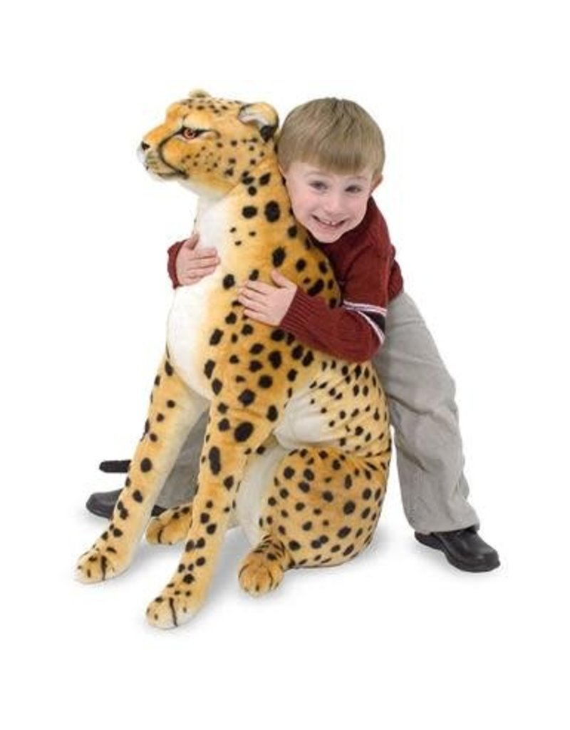 Melissa & Doug Giant Plush Cheetah
