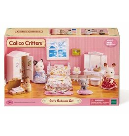 Calico Critters Calico Critters Floral Bedroom Set