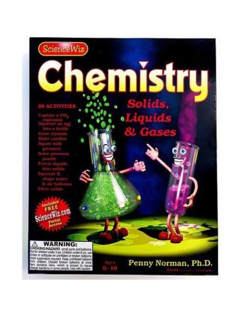 Science Wiz Science Wiz Activity Book - Chemistry