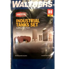 Walthers Industrial Tanks Detail Set - Cornerstone -- Kit