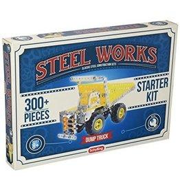 Schylling Toys Dump Truck - Steel Works 170301C
