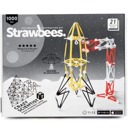 Schylling Toys Crazy Scientist Kit- Strawbees 1000 pc