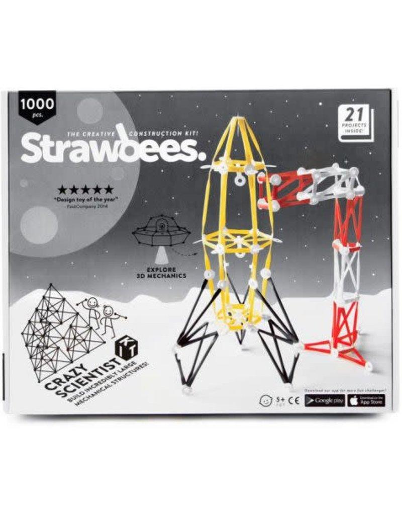 Schylling Toys Crazy Scientist Kit- Strawbees 1000 pc
